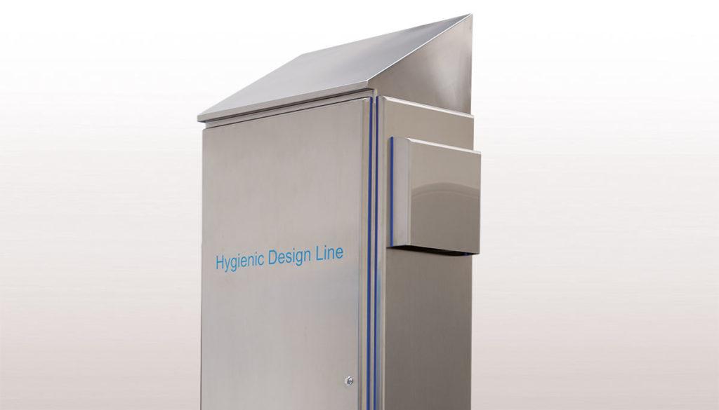 Armario de suelo para armarios eléctricos en acero inoxidable serie HYGIENIC - Ilinox Ibérica