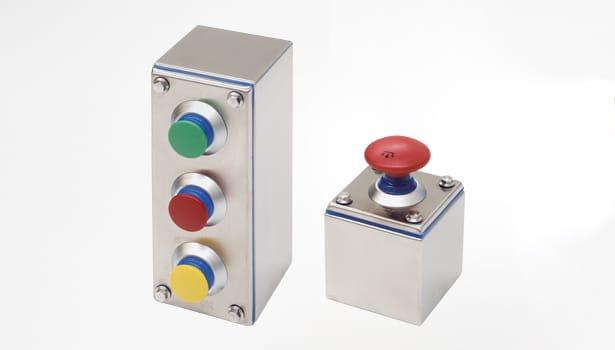 Caja de derivación o pulsantería en acero inoxidable serie HYGIENIC - Ilinox Ibérica
