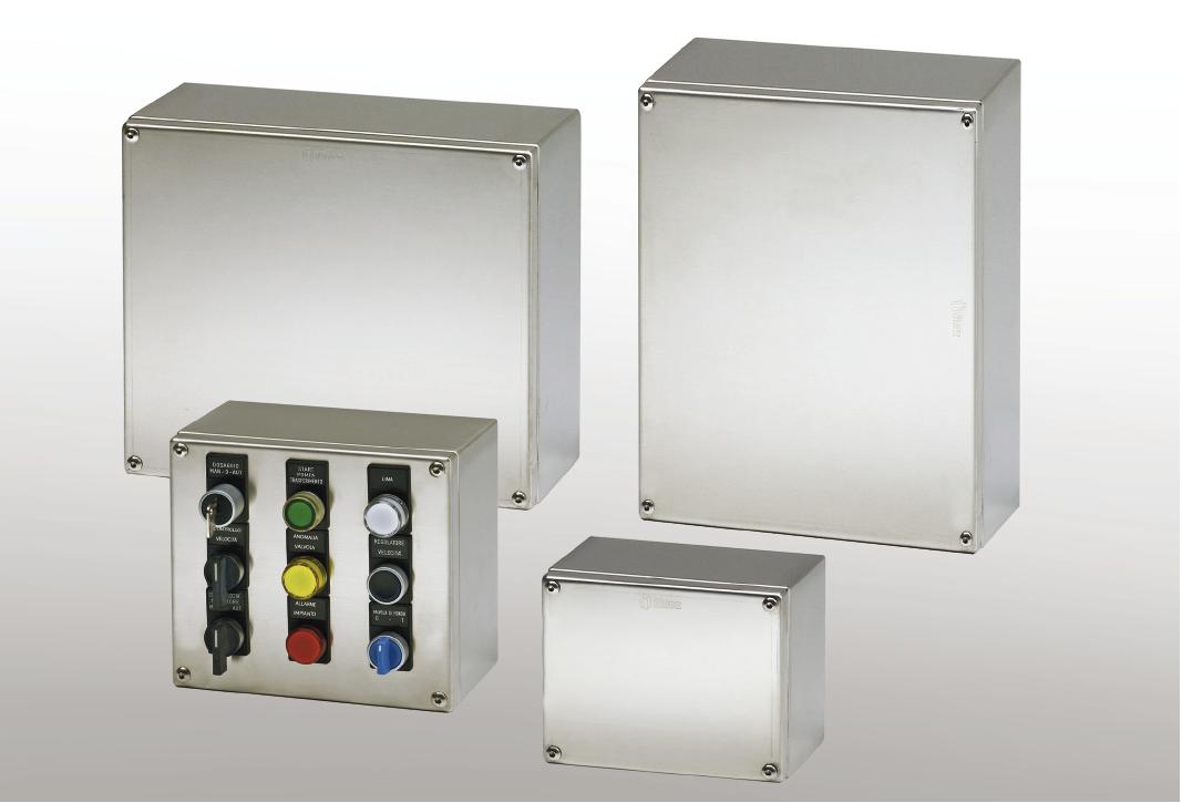 Cajas derivación ATEX IP66 DS - Envolventes en acero inoxidable serie ATEX - Ilinox Ibérica